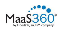 Fiberlink MaaS360