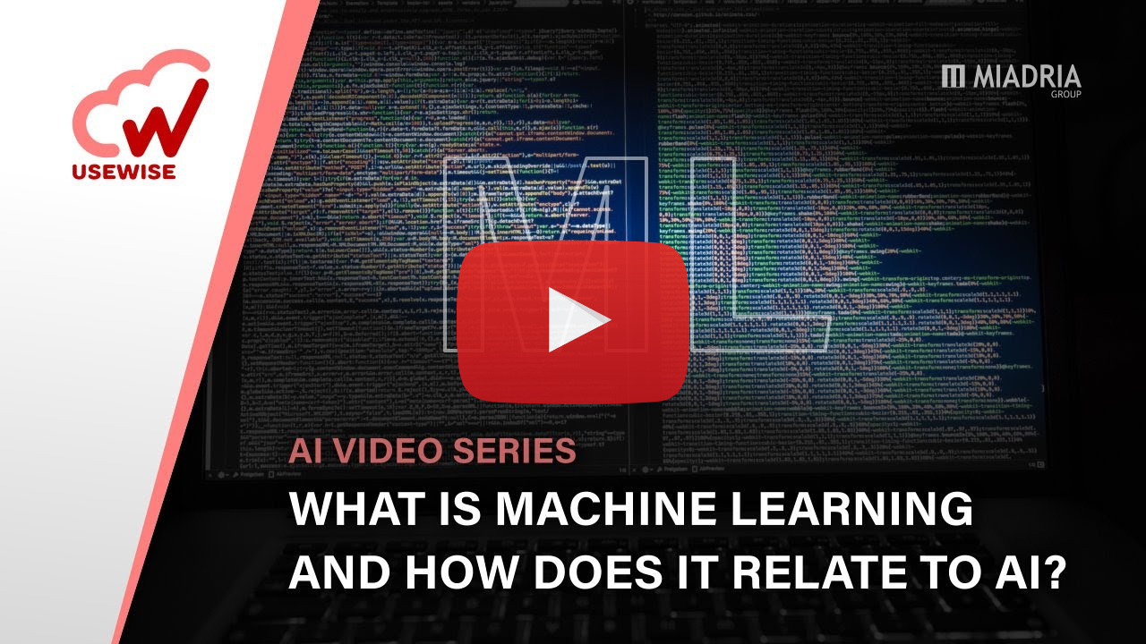 What is machine learning and how does it relate to AI