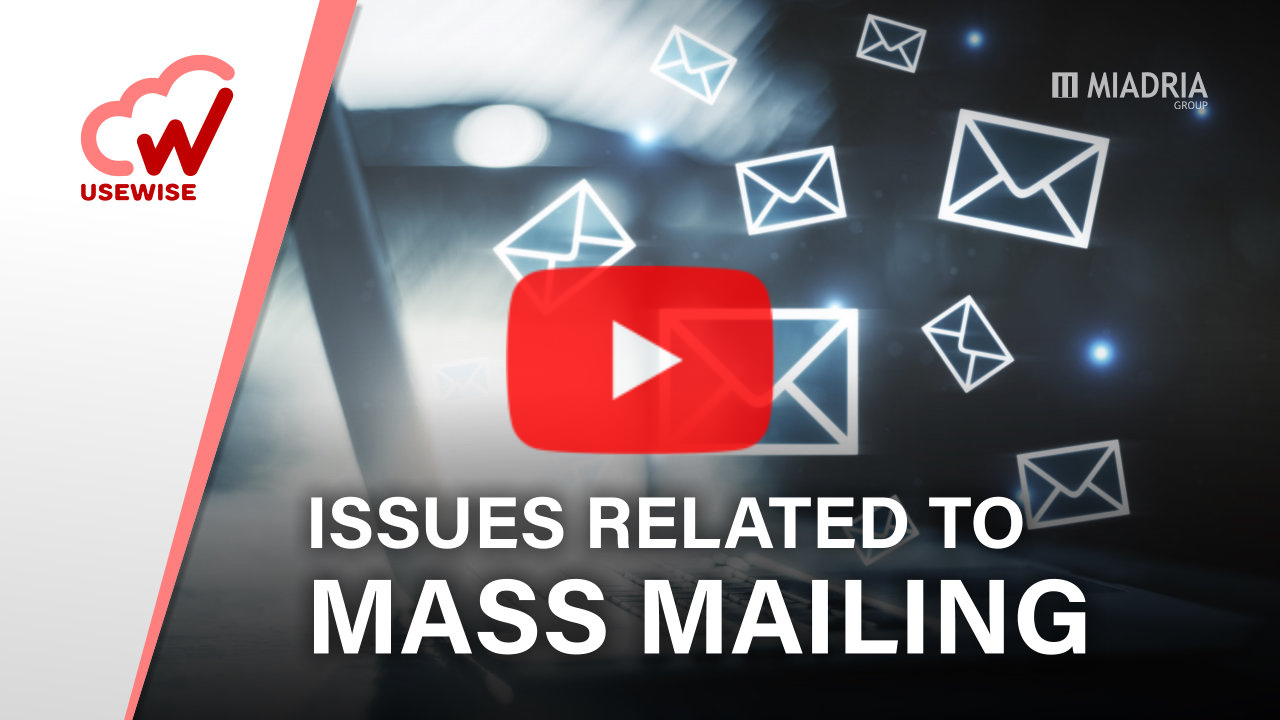 Issues related to mass mailing
