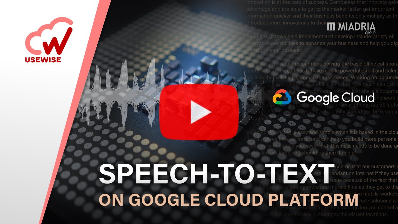 Speech-to-text on GCP